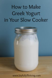 How to Make Greek Yogurt in Your Slow Cooker