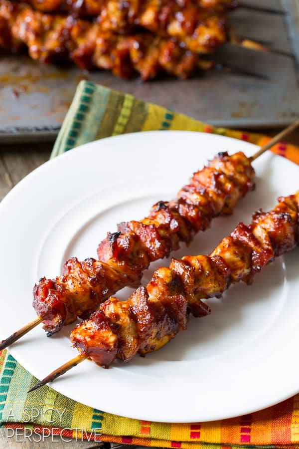 chipotle-bbq-chicken-skewers-a spice perspective