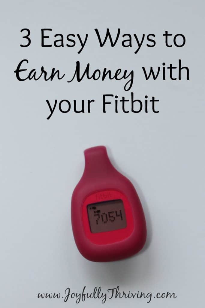 Easy Ways to Earn Money with Your Fitbit - I love that I can actually earn cash for something I'm already doing! Glad to learn these tricks.