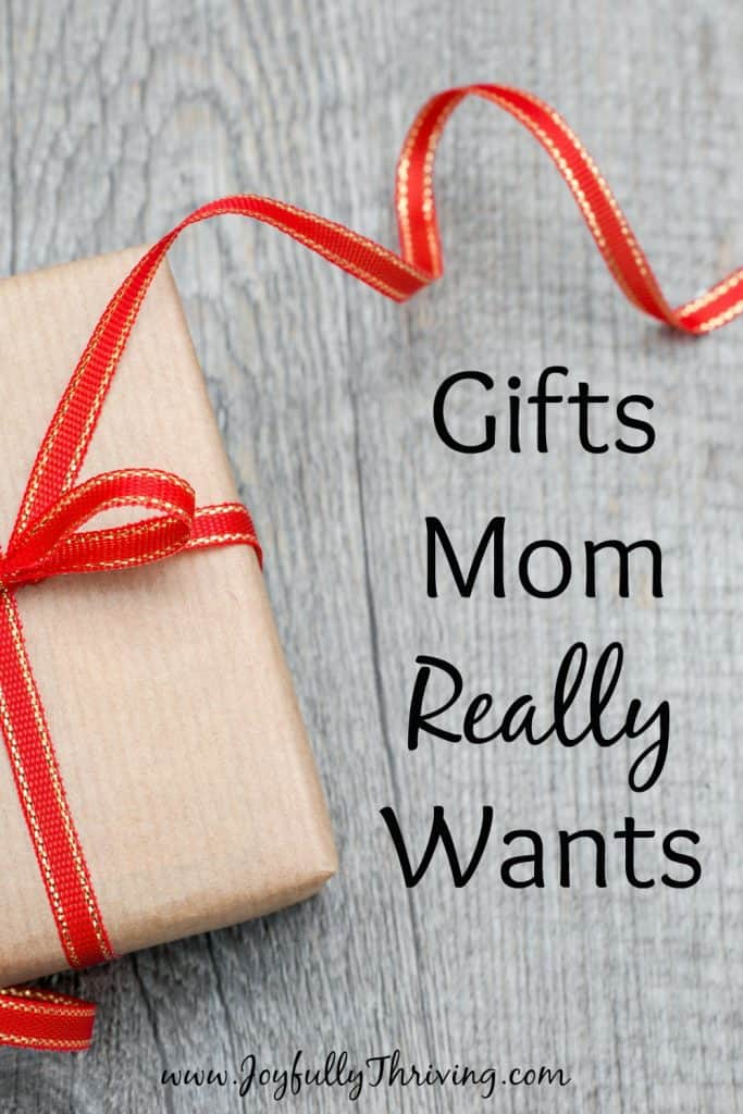 Gifts Mom Really Wants - Curious? Check out this list of 70 ideas for all budgets, as suggested by real moms.