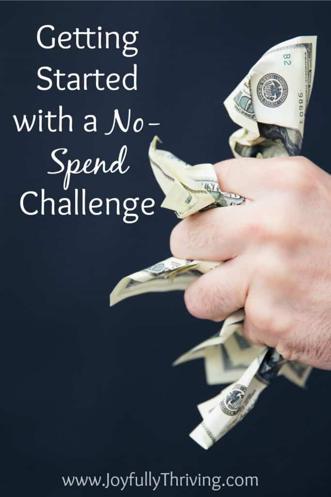 If you're thinking about attempting a no-spend month, these are some good ideas for getting started with a no spend challenge.