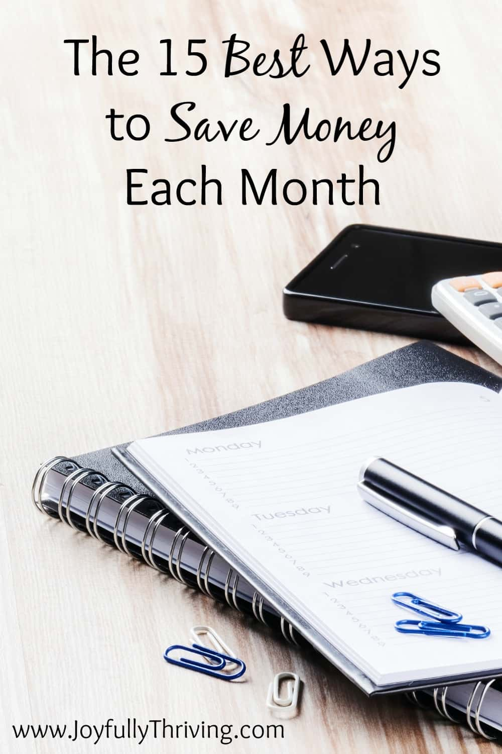 Great list of ways to save month each month. Now to just start doing them all...
