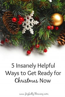 5 Insanely Helpful Ways to Get Ready for Christmas Now
