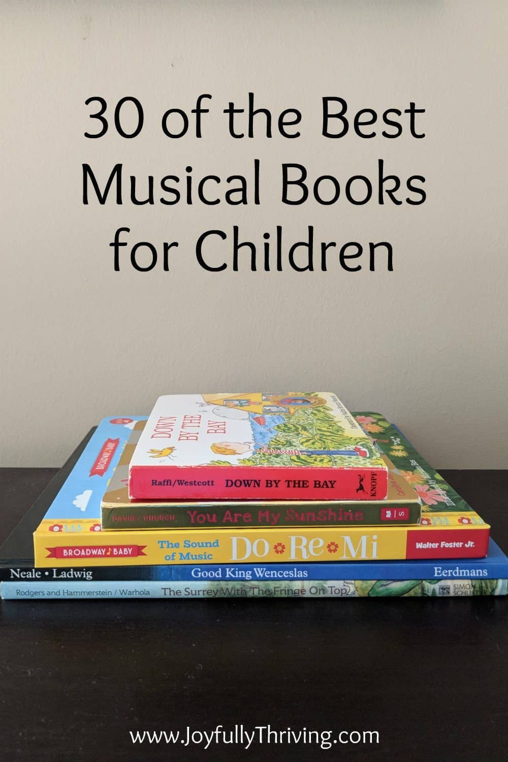 Best Musical Books for Children - Love this list! Love starting with musical books for babies and beyond!
