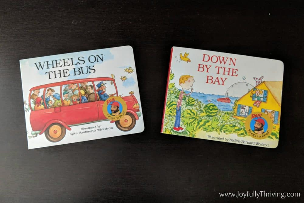 Musical books for babies - A couple of our favorite musical books!