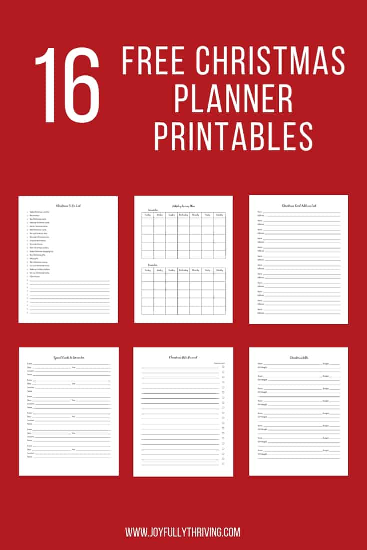 Christmas Planner Printables Free.Free Printable Christmas Planner To Help You Get Ready For