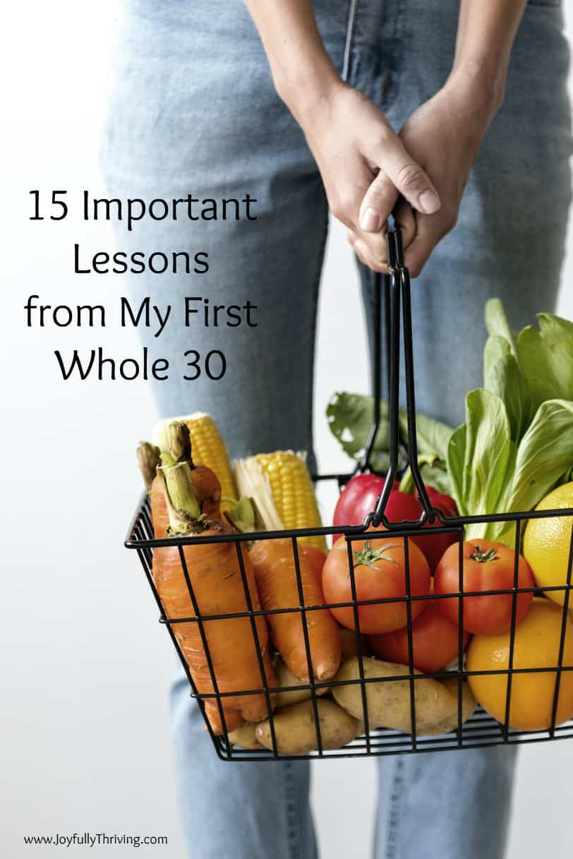 Great tips and lessons from a first timer on the Whole 30! So many good Whole 30 resources and recipes, too! #Whole30