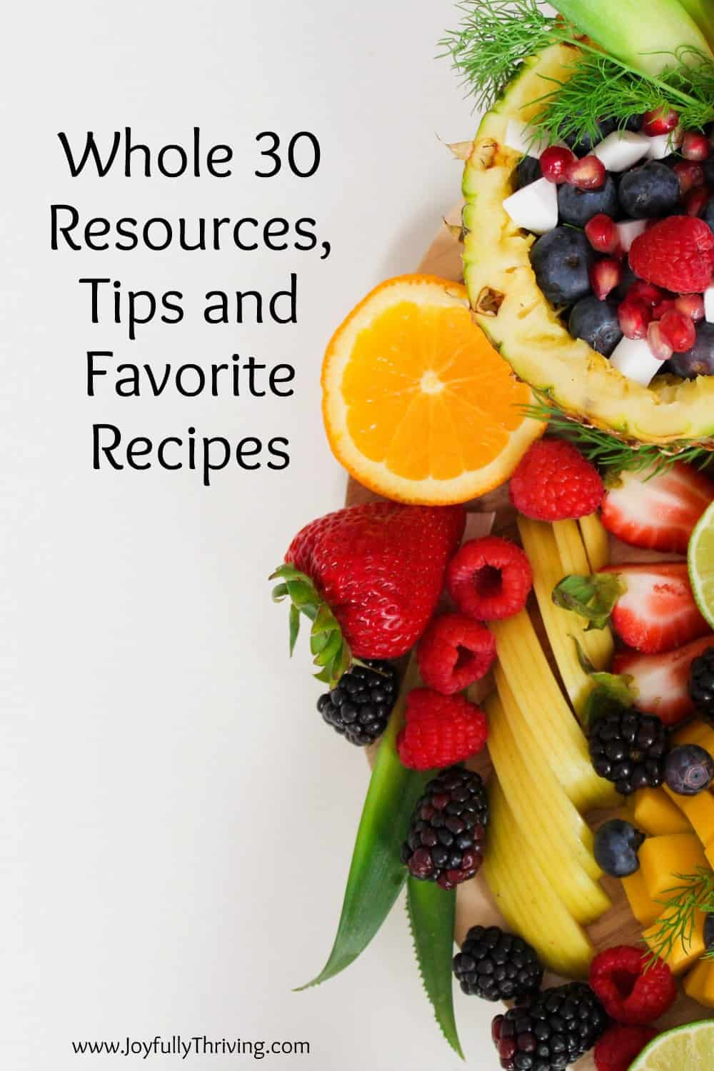 Thinking of attempting a Whole 30? Here are some great Whole 30 resources, tips and favorite recipes from a busy mom of little ones who did the challenge too! #whole30